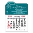"""Church Peel-N-Stick® Calendar - Church/religious-themed Peel-N-Stick® 12-month calendar in 4""""H x 3""""W or 5-3/4""""H x 3""""W sizes and assorted colors."""