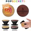 PopSockets Wood PopGrip - Wood PopSockets Grip & Phone Stand