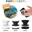 PopSockets PopGrip - PopSockets sticks to the back of your phone to create a media stand.