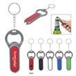 Fiesta Key Chain with Bottle Opener & LED Light