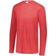 Augusta Sportswear Triblend Long Sleeve Crewneck T-Shirt - Augusta Sportswear Triblend Long Sleeve Crew
