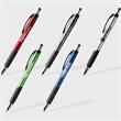 Mateo Stylus™ Pen - Hybrid Ink pen with a handy Stylus Top, Black and Chrome accents with an ergonomic shape