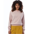 Alternative Women's Eco-Teddy Baby Champ Crewneck Sweatshirt - Alternative Women's Eco-Teddy Baby Champ Sweatshirt