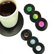 Vinyl Record Drink Coaster/Cup Mat