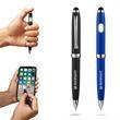 Metallic COB Ballpoint Pen w/ Stylus - Metallic COB Ballpoint Pen with Stylus