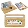 Bamboo Wireless Charging Pad with Phone Stand - Bamboo Wireless Charging Pad with Phone Stand