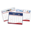 """Deluxe Daily Planner - 9"""" x 11-1/4"""" 12-month vinyl two-color daily planner with frosted corners and hanging hole."""