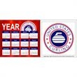 "2-in-1 Sked Combo Outdoor Magnet - Schedule and outdoor magnet combination measuring 5 1/2"" x 11 1/2""."