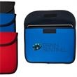 Econo Tablet Envelope - Polyester foam iPad®/ tablet sleeve with polyester piping trim.