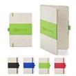 5x7 Soft Cover PU & Heathered Fabric Journal - 5x7 Soft Cover PU & Heathered Fabric Journal