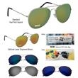 Color Mirrored Aviator Sunglasses - Color Mirrored Aviator Sunglasses. UVA400 Lenses Provide 100% UVA And UVB Protection.