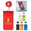 Waterproof Pouch With Neck Cord - Waterproof pouch with adjustable neck cord.