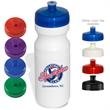 24 oz. Water Bottle - 24 oz. water bottle with wide mouth design and leak-proof, screw-top with pull-spout cap.