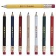 Round Golf Pencil with Eraser - Round golf pencil with eraser and graphite HB lead.