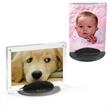 Taconic Acrylic Photo Frame - Clear acrylic photo frame.