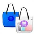 Classic Transparent Beach Tote Bag w/ Handles - Classic Transparent Beach Tote bag w/ Handles