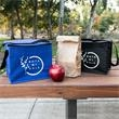 Crater Non-Woven Cooler/Lunch Bag - Roomy enough for a 6 pack of cans or lunch for those with a hearty appetite.