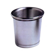 MS Jigger 2oz - Pewter jigger cup, 2 ounce capacity.
