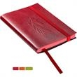 Venezia™ Mini Carnivale Journal - Mini journal with 80 ruled pages and a faux leather cover with matching-colored edges.