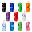 Flex Foldable 16 oz Water Bottle with Carabiner - BPA free flex water bottle made from PVC with carabiner.