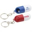 Twist A Pill Key Chain - Pill holder key chain.