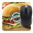 """Computer Mouse Pad - Dye Sublimated - 6"""" - Square mouse pad printed with four color dye sublimation process that measures 6"""" x 6""""."""