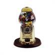 """Gold anniversary gumball machine 9 inch - Gold anniversary gumball machine, 9""""."""