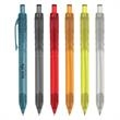 Oasis Bottle-Inspired Pen - Oasis bottle pen is made with PET material. Available with black or blue ink. Plunger action.