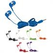 """Earbuds - Earbud headphones with 48""""L cord, available in several colors"""