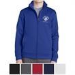 Sport-Tek Youth Sport-Wick Fleece Full-Zip Jacket - Youth full-zip jacket made of 100% polyester fleece that is anti-static and moisture wicking.