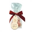 Mug Stuffers And Wood Ornament Kit - Mug stuffer kit with a wood ornament featuring a one-color/one-location imprint.