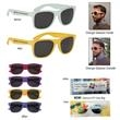 Color Changing Malibu Sunglasses - Color changing sunglasses made of polycarbonate material.