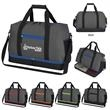 """Tribeca Duffel Bag - 19 1/2"""" x 12 1/2"""" x 10"""" duffel bag made of polyester with shoulder strap, handles and zippered main compartment"""