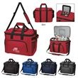 Tailgate Mate Cooler Bag - Tailgate Mate cooler bag that holds up to 48 cans with PEVA lining with a shoulder strap and web carrying handles.