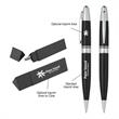 Elite Executive Pen In Case - Elite Executive Pen In Case Metal Twist Action Pen Includes Triangle Gift Box