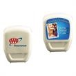 """Dental Floss - 2 1/4"""" x 1 3/4"""" x 7/8"""" dental floss pack with 18 yards of waxed floss."""