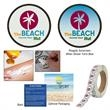 Sunburn Alert Multiple Day Event Sticker - Sunburn alert multiple day event sticker that turns blue to let you know when to reapply sunscreen.