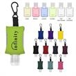 1 oz. Hand Sanitizer With EVA CASE AND CLIP