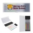Jazi Gel Pen Set - Make you writing pop when you use this Jazi gel pen set on the included black paper sticky notes.