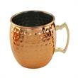 Hammered Moscow Mule Mug, 20 oz. - 20 oz. Hammered Moscow Mule mug made of stainless steel with copper plating. Blank.