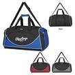 Arbon Mover Duffel Bag - Polyester duffel bag with polyester lining, shoulder strap, web carrying handles, zippered main compartment and pockets.