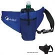 Water Bottle Fanny Pack - Fanny pack with insulated water bottle holder made of 70 Denier Nylon.