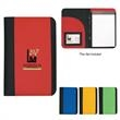 """Non-Woven Small Padfolio - Non woven small padfolio with 5"""" x 7"""" writing pad and elastic pen loop."""
