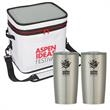 Himalayan Outdoor Kit - A performance Kooler bag with two 20 oz. tumblers, all featuring a 1-color / 1-location imprint.