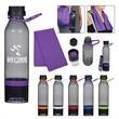 15 Oz. Energy Sports Bottle With Phone Holder - 15 oz. sports bottle with phone holder, made with PET material