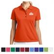 Nike Golf Ladies' Tech Basic Dri-FIT Polo - Ladies' polo shirt with moisture management technology that is available in assorted colors