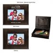 """Photo and Memory Box - Photo and Memory Box.  Leatherette Box Holds Photos or Other Keepsakes.   4"""" x 6"""" Picture Frame on Lid."""