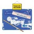 Premium Translucent School Kit - Premium vinyl zippered school kit with pencil, ruler, sharpener and eraser.