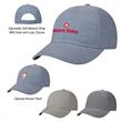 Vintage Cap - Vintage Cap 70% Polyester, 30% Cotton   6 Panel, Medium Profile Structured Crown And Pre-Curved Visor Linen Feel
