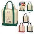 Small Cotton Canvas Kooler Bag - Small Cotton Canvas Kooler Bag.  16 oz. Canvas.  PEVA Lining.  Zippered Top Closure. Two Interior Mesh Pockets.  Front Pocket.
